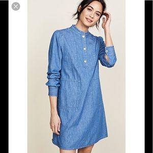 A.P.C. Saffron Denim Dress